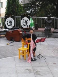 『ピクミン愛の歌』を歌う渡辺智江さん